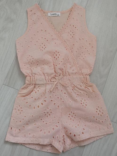 Peach Lace Playsuit