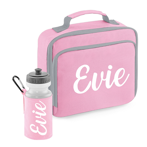 Ollie&Millie's Own - Personalised Cool Lunch Bag & Bottle