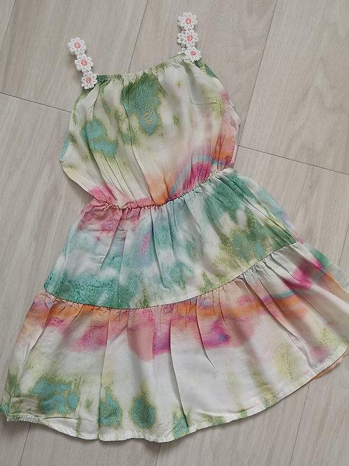 Tie dye daisy dress