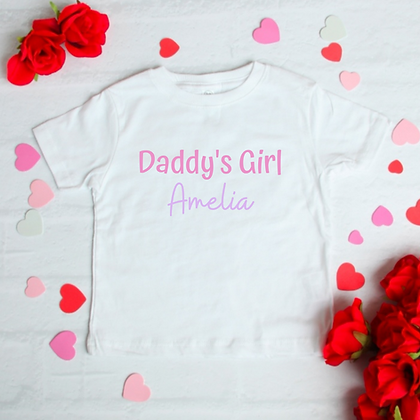 Ollie&Millie's Own - Personalised Mamas boy/Daddy's girl tee