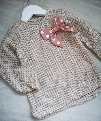 Knitted Bow Jumper