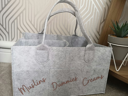 Ollie&Millie's Own - Personalised  Nappy Caddy