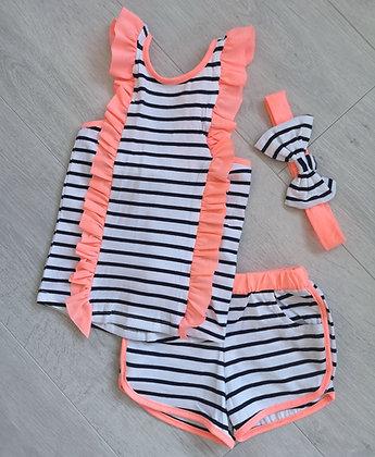 Striped Neon Summer Set