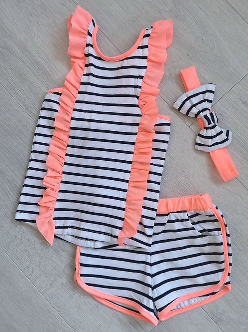 Striped Neon Summer Set