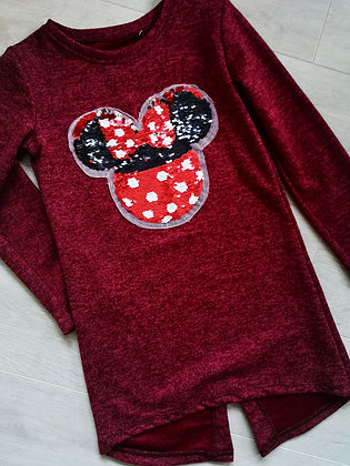 Minnie Mouse Reverable Sequin Jumper