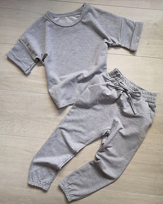 Thick grey lounge set