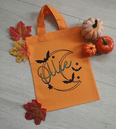 Copy of Ollie&Millie's Own -Colour Changing Halloween Personalised Bag