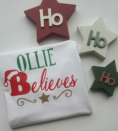 Ollie&Millie's Own - Personalised Believes Tee