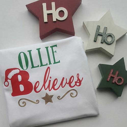 Ollie&Millie's Own - Personalised Believes Tee