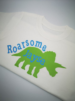 Ollie&Millie's Own - Personalised Roarsome Tee