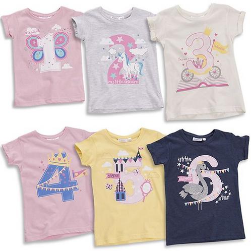 Girls Age T-shirts