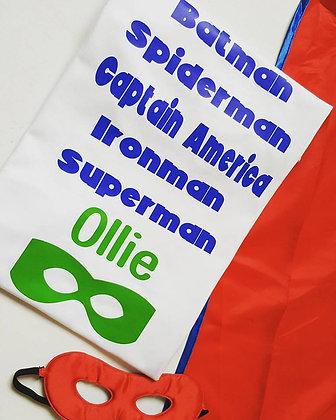 Ollie&Millie's Own - Personalised Superhero Tee