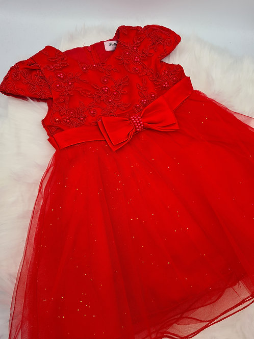 Red Sparkle Dress