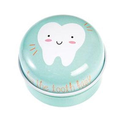 Tooth fairy tin