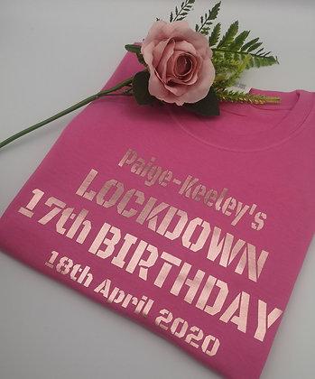 Ollie&Millies Own - Personalised Lockdown Birthday