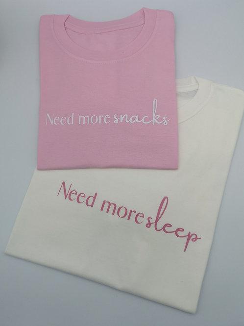 Ollie&Millie's Own - Need more sleep/snacks