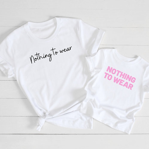 Ollie&Millie's Own - Nothing to wear