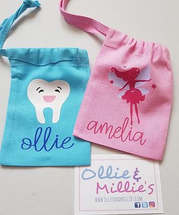 Ollie&Millie's Own - Personalised Tooth Bag