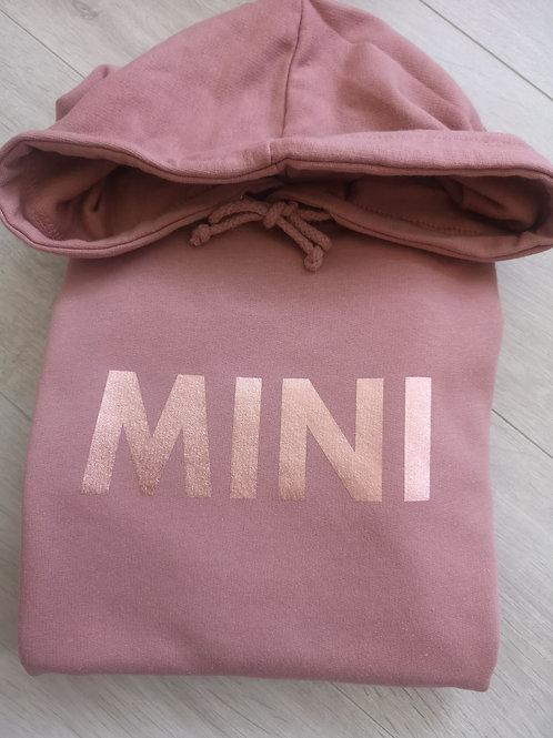 Ollie&Millie's Own - Dusky Pink & Rose Gold MINI Hoody
