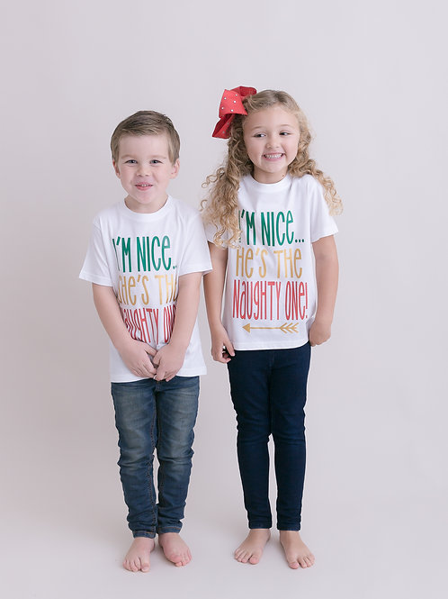 Ollie&Millie's Own - Im Nice...He's/She's the naughty one set