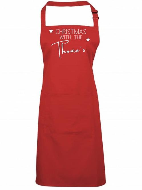 Personalised Christmas Apron