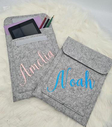 Personalised Ipad/tablet pocket