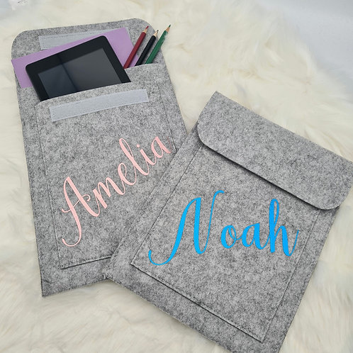 Personalised Ipad/tablet pocket