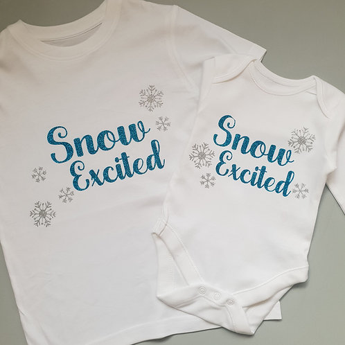 Ollie&Millie's Own  - Snow Excited