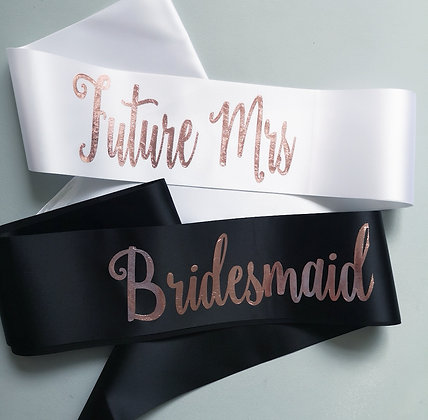 Hen Party Personalised Sash