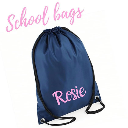 Ollie&Millie's Own - Personalised Drawstring Bag