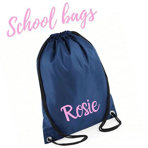 Ollie&Millie's Own - Personalised Drawstring Bag