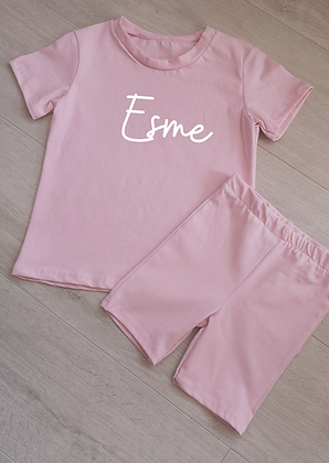 Ollie&Millie's Own - Personalised Top & Shorts Set