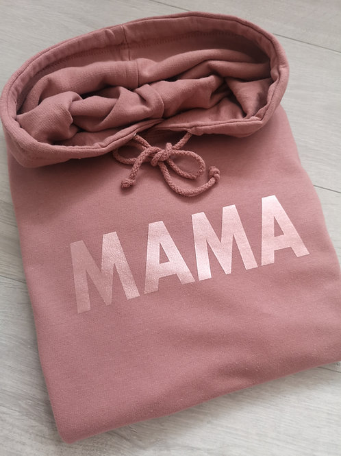 Ollie&Millie's Own - Dusky Pink and Rose gold hoody