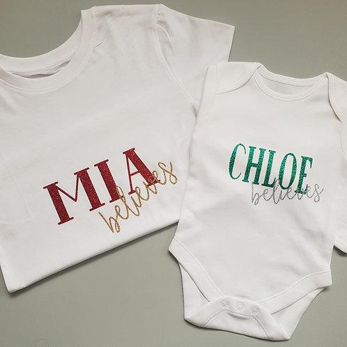 Ollie&Millie's Own - Personalised believes top