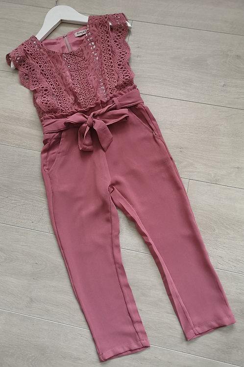 Dusky Pink Jumpsuit
