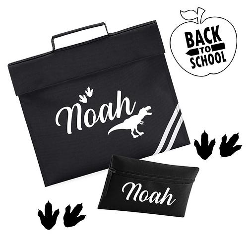 Ollie&Millie's Own - School Book Bag & pencil case