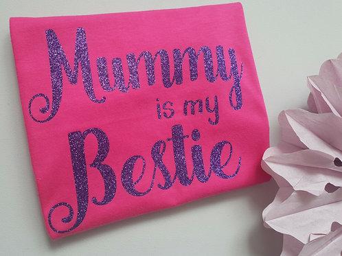 Ollie&Millie's Own - Pink Mummy Is My Bestie Tee
