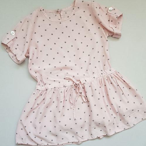 Pink & Grey Star dress