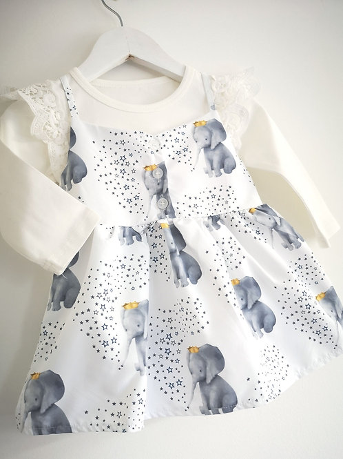 Elephant Print Sundress
