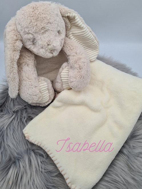 Personalised Bunny & Blanket