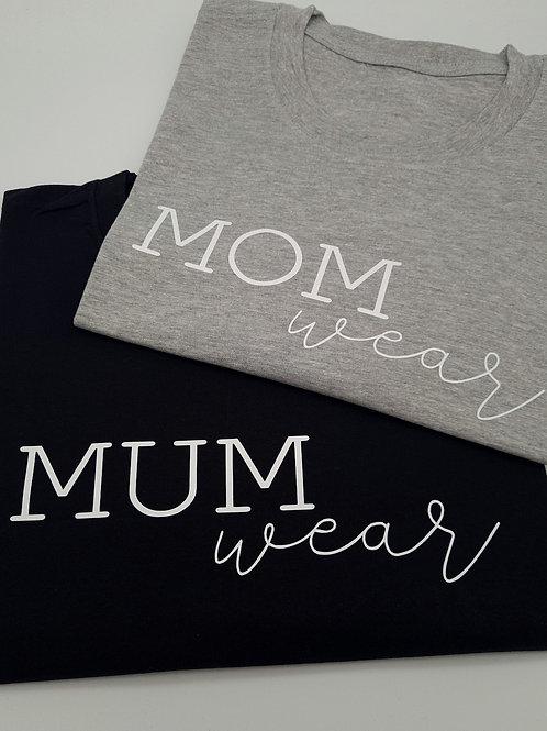 MUM wear tee