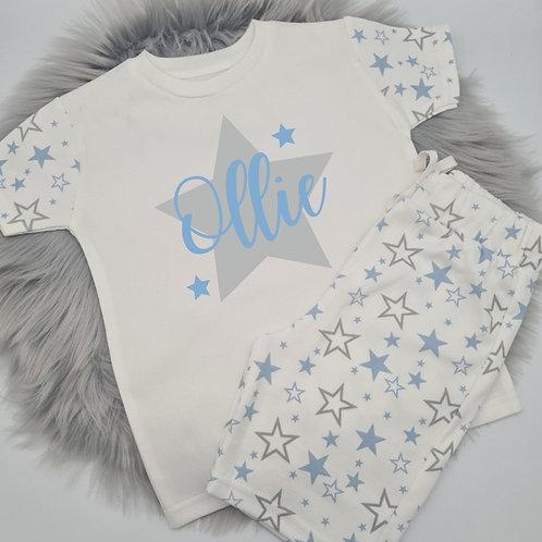 Ollie&Millie's Own - Personalised Star Short PJ