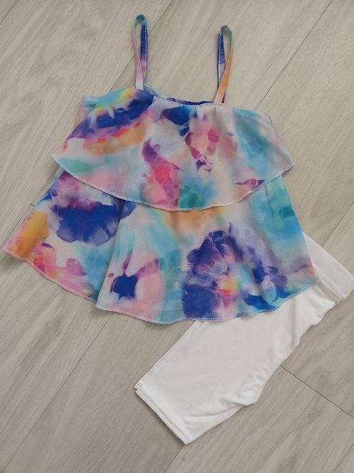 Ruffle cami & shorts set