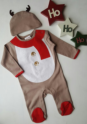 Reindeer Sleepsuit 2 Piece Set