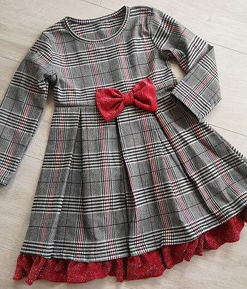 Tartan Glitter Dress