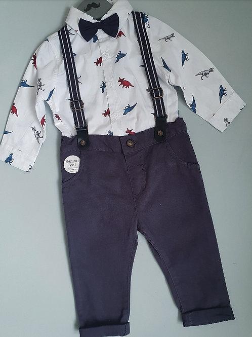 Boys Dino Print Suit