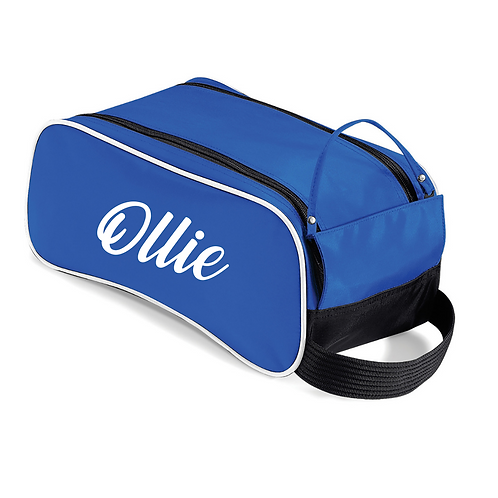 Personalised shoe bag