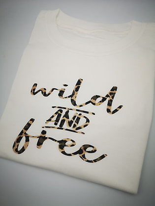 Ollie&Millie's Own - wild and free tee