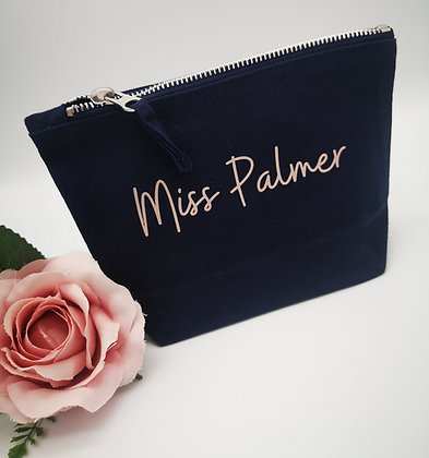 Ollie&Millie's Own - Personalised Small Accessory Bag