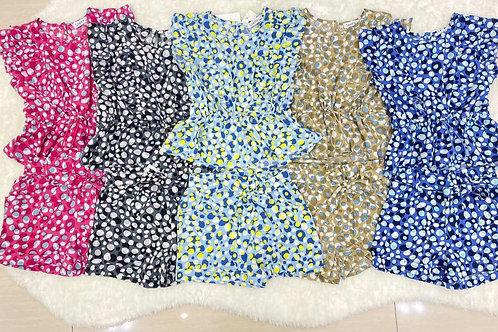 Speckled Shorts Set